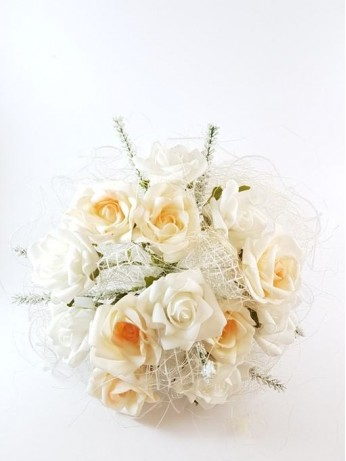Сватбен букет модел 6