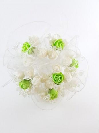 Стилен сватбен букет за хвърляне