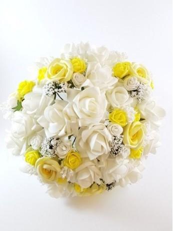 Булчински букет от рози модел 1