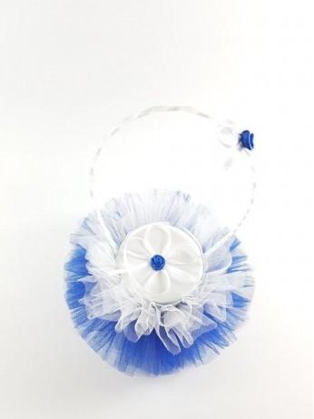 Синя кошничка за халки