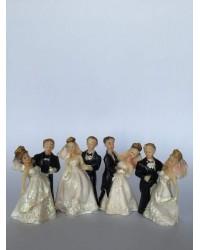 Фигурки на Младоженци