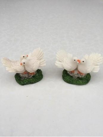Двойка гълъби хълм