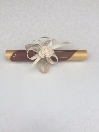 Сватбена покана луксозен папирус