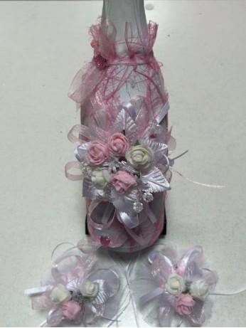 Украсено шампанксо в розово