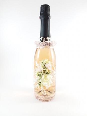 Плодово шампанско с дантела модел 2