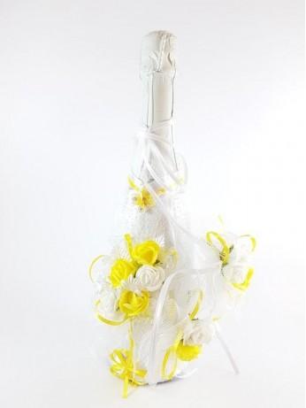 Украса за чаши и шампанско модел 7